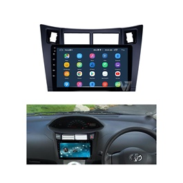 Toyota Vitz Android LCD IPS Multimedia Navigation System 10 Inch - Model 2004-2011-SehgalMotors.Pk