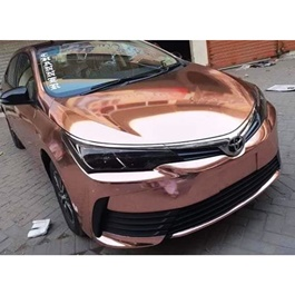 Glossy Bronze Wrap Per Sq Ft