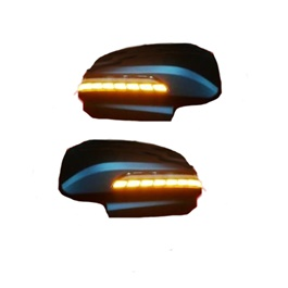 Toyota Fortuner Side Mirror Led Covers - Model 2016-2019