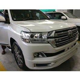 Toyota Land Cruiser Conversion / Upgrade with Body Kit / Bodykit From Model 2008 to 2019 | Facelift Uplift New Model Shape Brand 1234 B Grade Quality-SehgalMotors.Pk