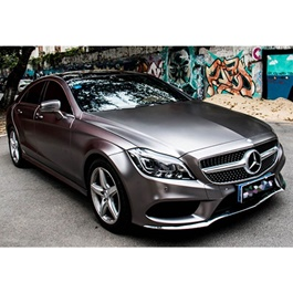 Charcoal Silver Car Wrap - New Silver | Car Vinyl Wrap Film | Car Wrapping | Vehicle Wrap-SehgalMotors.Pk