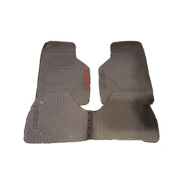 Suzuki Mehran PVC Floor Mat Grey - Model 2012-2019-SehgalMotors.Pk