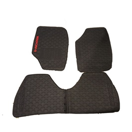 Suzuki Wagon R PVC Floor Mat Black - Model 2014-2018-SehgalMotors.Pk