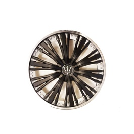 Wheel Cover ABS Black 15 Inches - WM5-3BK-15