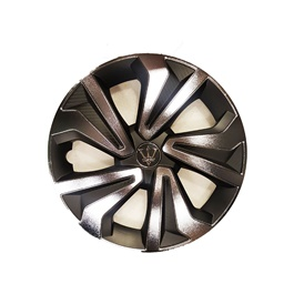 Crown Black and Grey Wheel Cap - WK11CR14 - 14 inches-SehgalMotors.Pk