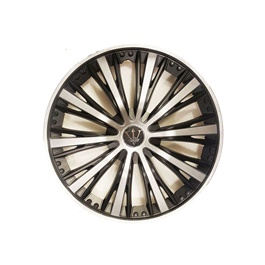 Wheel Cover ABS Black Silver 12 Inches - WM1-1SL-12-SehgalMotors.Pk