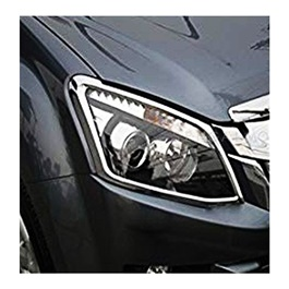 Isuzu D-Max / DMax / D Max Headlights / Head Lamps  Chrome Cover Thailand - Model 2018-2020-SehgalMotors.Pk