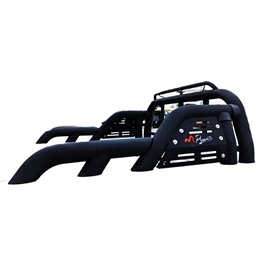 Universal M power Roll Bar With Red Logo -SehgalMotors.Pk