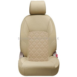 Toyota Corolla Seat Cover Complete Beige - Model 2017-2020-SehgalMotors.Pk