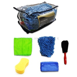 Car Wash Bundle Microfiber Kit - 5 Pcs | Detailing Products