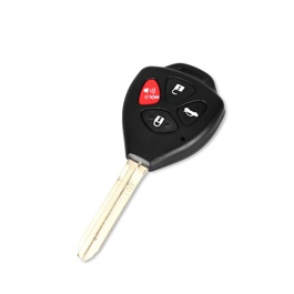 Toyota Camry 4 Button Replacement Key Shell Cover | Key Case Shell | Protective Shell Cover | Shell key Cover-SehgalMotors.Pk