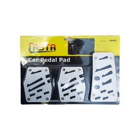 Universal Pedal Covers Manual Transmission Black - 1045-SehgalMotors.Pk