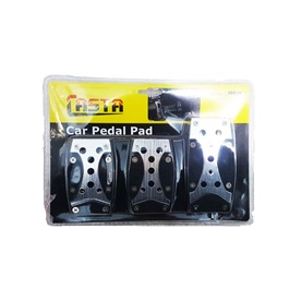 Universal Pedal Covers Manual Transmission Black - 10038-SehgalMotors.Pk
