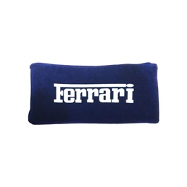 Ferrari Neck Rest Pillow - Blue  | Car Seat Headrest Memory Cotton Soft Breathable Pillow Neck Support Cushion-SehgalMotors.Pk