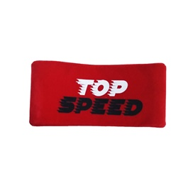 Top Speed Neck Rest Pillow - Red  | Car Seat Headrest Memory Cotton Soft Breathable Pillow Neck Support Cushion-SehgalMotors.Pk