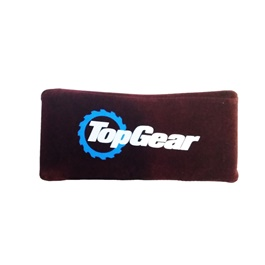 Top Gear Neck Rest Pillow - Maroon | Car Seat Headrest Memory Cotton Soft Breathable Pillow Neck Support Cushion-SehgalMotors.Pk
