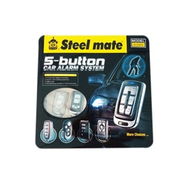 Steelmate 5 Button Car Alarm System Style A - 838G-SehgalMotors.Pk