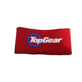 Top Gear Neck Rest Pillow - Red  | Car Seat Headrest Memory Cotton Soft Breathable Pillow Neck Support Cushion-SehgalMotors.Pk