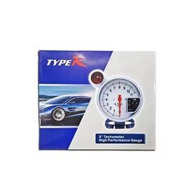 TYPE R 5 Tachometer High Performance Guage-SehgalMotors.Pk