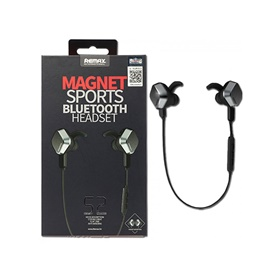 Remax S2 Magnet Sports Bluetooth Handsfree | Latest Bluetooth Ear Phone | Ear Buds | Stereo Earphone-SehgalMotors.Pk