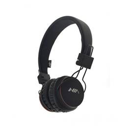 NIA X2 Bluetooth Wireless Headphone - Black | Hearing Protection Safety Earmuffs Headphoe Noise Reduction Ear Protector Soundproof Headphones-SehgalMotors.Pk