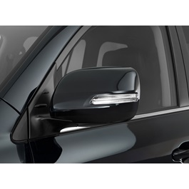 Toyota Land Cruiser Side Mirror Cover Black - Model 2008-2012-SehgalMotors.Pk