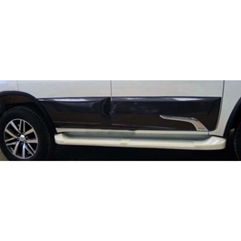 Toyota Fortuner Side Chrome Black Moulding - Model 2016-2020-SehgalMotors.Pk