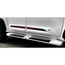 Toyota Hilux Revo Body Cladding Thailand White - Model 2016-2020-SehgalMotors.Pk