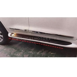 Toyota Land Cruiser Foot Steps LED Cover White - Model 2015-2019