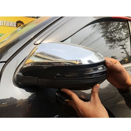 Toyota Fortuner Side Mirror Chrome Covers - Model 2016-2020-SehgalMotors.Pk