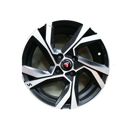 Honda City Alloy Rims Black And Chrome - Model 2008-2019