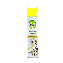 Green World Air Freshener Jasmine And Cotton Flower -SehgalMotors.Pk