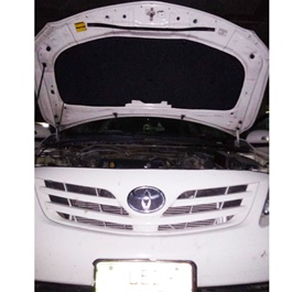 Toyota Corolla Bonnet Cover Protector Lid Garnish Namda - Model 2008-2012-SehgalMotors.Pk