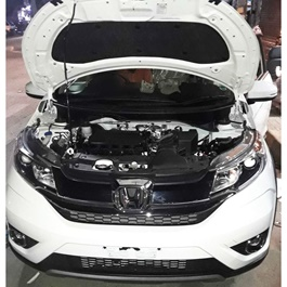 Honda BRV Bonnet Cover Protector Lid Garnish Namda - Model 2017-2019-SehgalMotors.Pk