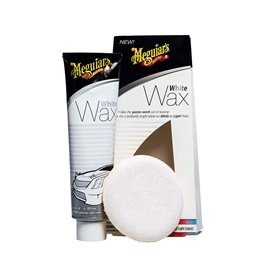 Meguiars White Wax Tube with Applicator Pad G6107 - 7OZ | White Car Wax |  | Paint Care Waterproof Coating Soft Wax | Car Crystal Hard Wax | Anti Fade Ultraviolet Proof Polishing | Polish For Car Body | Easy Operation For Caring And Maintenance Clean | Car Polishing Body Solid Waterproof Wax | Car Polish | Car Care Product | Coating Car Wax | Coating Paste