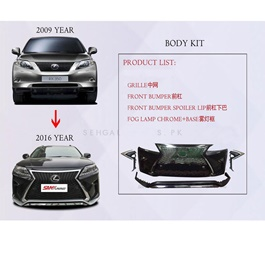 Lexus RX450 2008-2013 Conversion / Upgrade to Model 2020-SehgalMotors.Pk