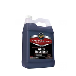 Meguiars Wheel Brightener - 1 Gallon  | Auto Tire Cleaning Agent | Portable Car Rim Care Wheel Ring Cleaner | Rim Cleaning Tool For Car Truck Motorcycle | Wheel Cleaner-SehgalMotors.Pk