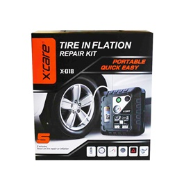 XCare Tire / Tyre Inflation Repair Kit  X-018 | X-care-SehgalMotors.Pk