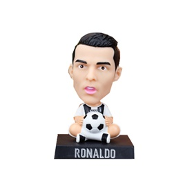 Cristiano Ronaldo Automobile Bobble Head Shaking Doll For Dashboard | -SehgalMotors.Pk