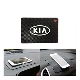 KIA Non Slip Dashboard Mat | Anti Skid Material | Silicon Type Dashboard Mat | Car Anti Slip Mat-SehgalMotors.Pk