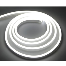 Neon Flexible Strip 5M - White -SehgalMotors.Pk