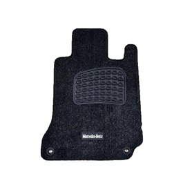 Mercedes Benz Irani Custom Tufted Floor Mat Black - Model 2014-2018-SehgalMotors.Pk