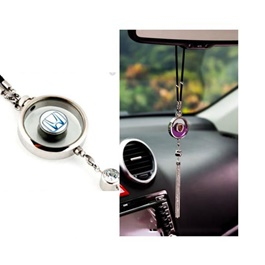 Honda Logo Hanging Car Perfume Chrome-SehgalMotors.Pk