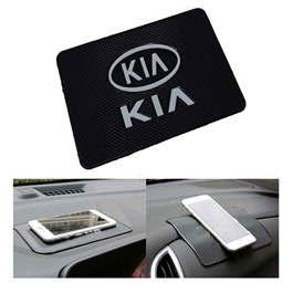 KIA Non Slip Dashboard Mat Large | Anti Skid Material | Silicon Type Dashboard Mat | Car Anti Slip Mat-SehgalMotors.Pk