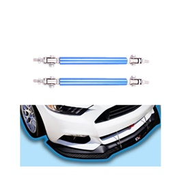 Adjustable Car Front Bumper Lip Splitter Canard Strut Brace Rod Support Bar | Bumper Canard Hook-SehgalMotors.Pk