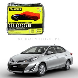 Toyota Yaris Maximus Non Woven Scratchproof Waterproof Car Top Cover - Model 2020-2021-SehgalMotors.Pk