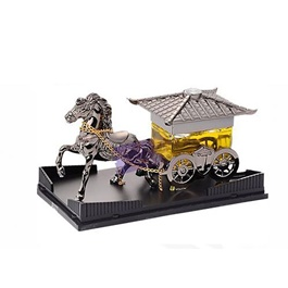 Riding Horse Dashboard Car Perfume - Silver | Car Perfume | Fragrance | Air Freshener | Best Car Perfume | Natural Scent | Soft Smell Perfume-SehgalMotors.Pk