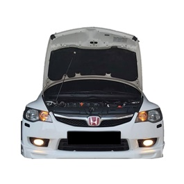 Honda Civic Reborn Bonnet Cover Protector Lid Garnish Namda - Model 2006-2012-SehgalMotors.Pk