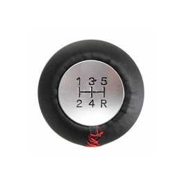 6 Speed Leather Gear Shift Knob For Auto  | Gear Knob | Shift Lever Stick Knob | Lever Knob-SehgalMotors.Pk