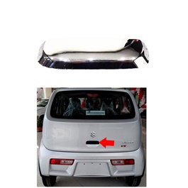 Suzuki Alto Back Trunk Door Chrome Handle Trim Cover - Model 2018-2020 MA001033-SehgalMotors.Pk